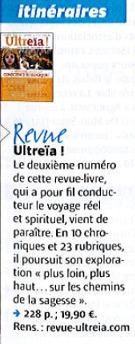 Ultreïa dans Pèlerin - 2015 01 22 copie