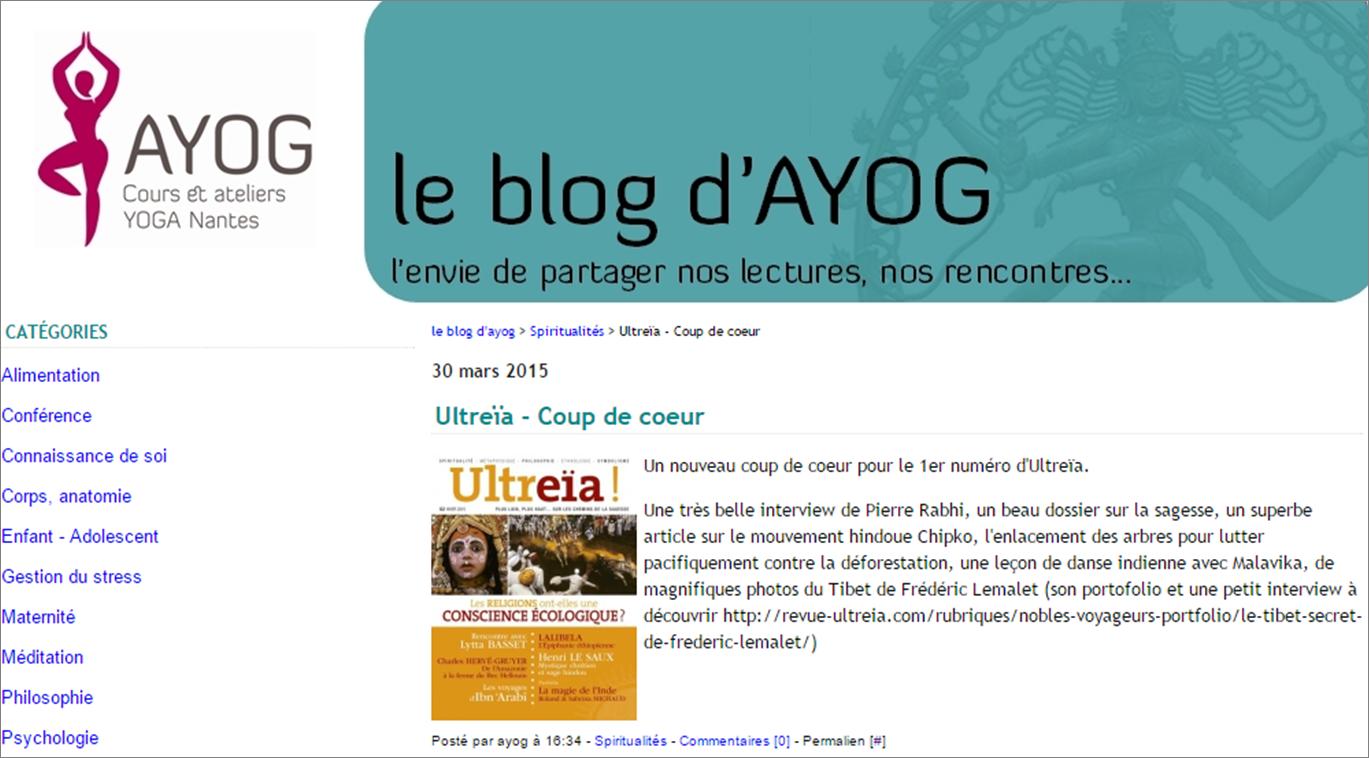 Ayog blog