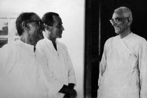 Frederick Leboyer, Arnaud Desjardins et Swami Prajnanpad