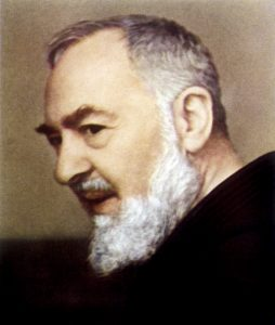 Francesco Forgione, name in religion Pio de Pietrelcina, known as 'PADRE PIO', Capucin friar who manifested stigmata and many other paranormal ph Date: 1887 - 1968 Source: unnamed photographer